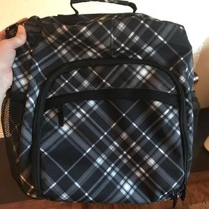 Thirty one organizing pack in pick me plaid